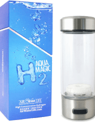 H2 Hydrogen Bottle, Aqua Magic, Hydrogen Enhanced Water